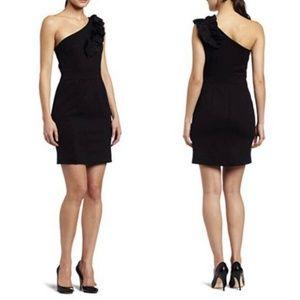Trina Turk Womens Sheila Black Sleeveless Dress